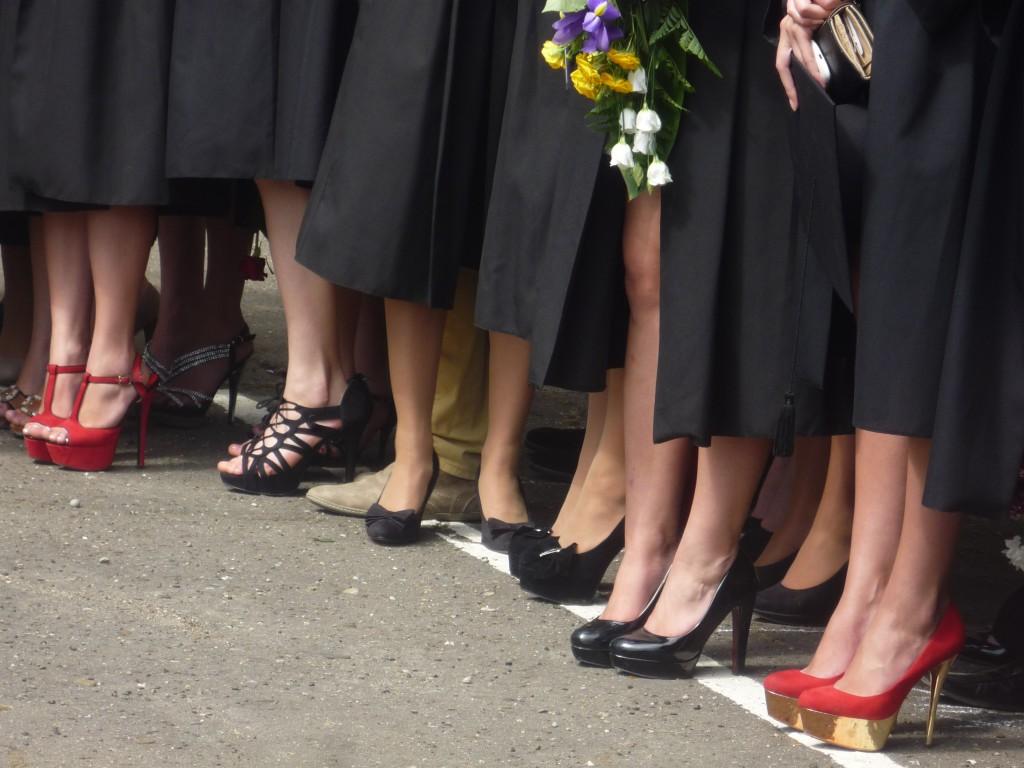 La ceremonia de absolvire a liceului
