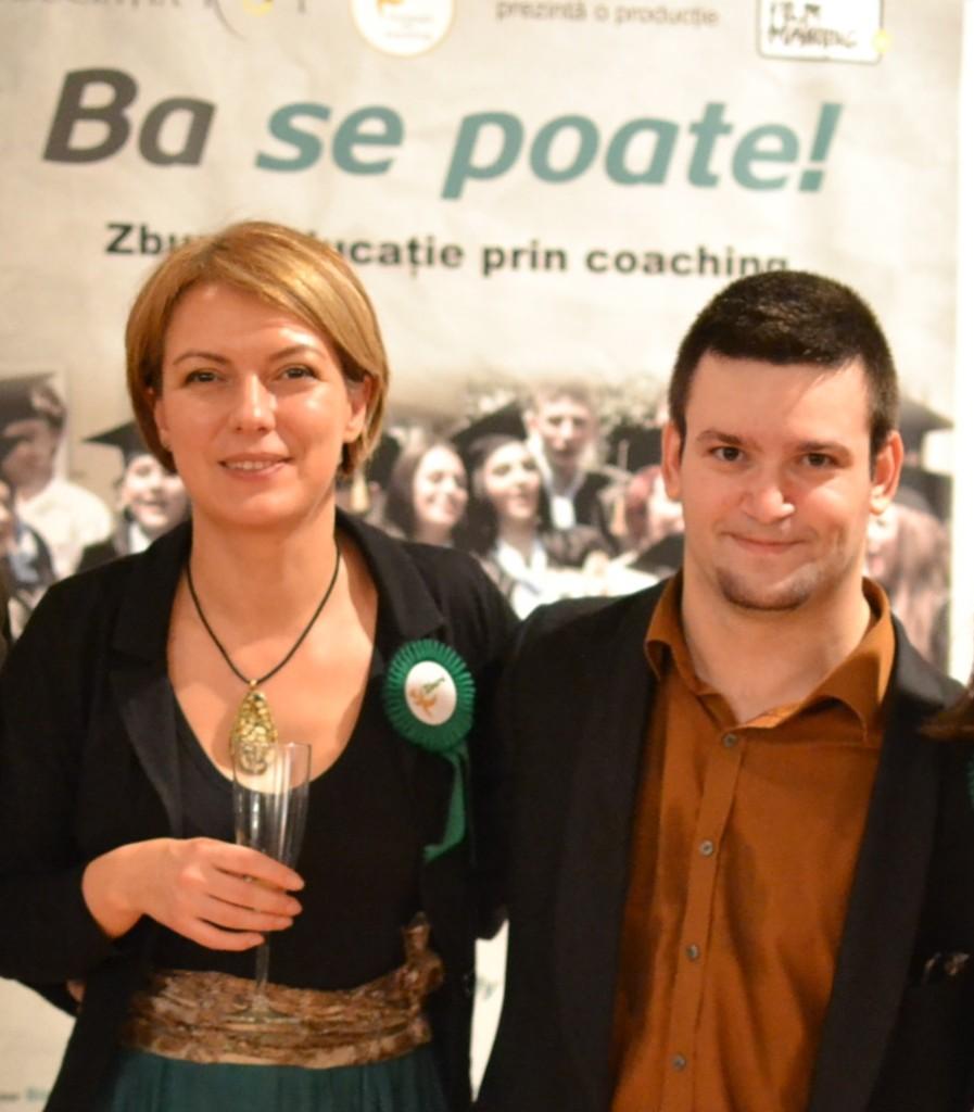 La premiera, cu Tedy Necula - Foto Olivian Breda